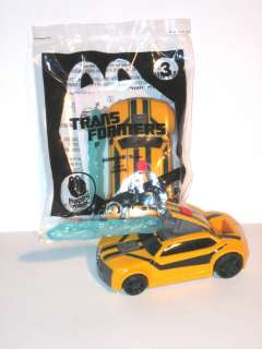 2012 McDonalds Happy Meal Toy   Transformers Prime #3 BUMBLEBEE