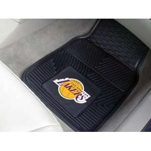 Los Angeles Lakers NBA Heavy Duty Vinyl Car Floor Mats (2