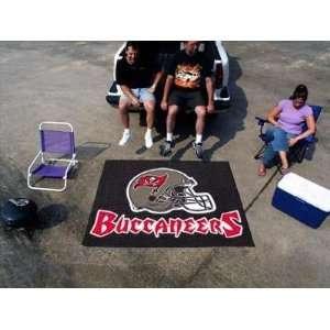 Bay Bucs Buccaneers 5X8ft Indoor/Outdoor Ulti Mat Tailgating Area