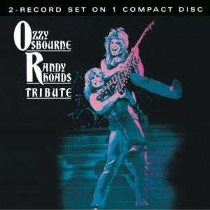 OZZY OSBOURNE & RANDY RHOADS**TRIBUTE LIVE (RM)**CD 696998544420