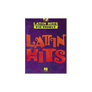 Hal Leonard Latin Hits   Instrumental CD Play Along for Trumpet Book