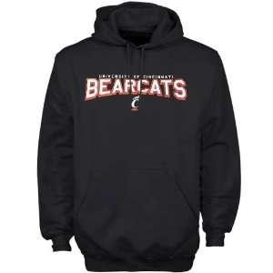 Cincinnati Bearcats Black Youth School Mascot Hoody Sweatshirt