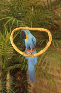 BLUE MACAW PARROT  TROPICAL/RAIN FOREST/TIKI  RIO MOVIE