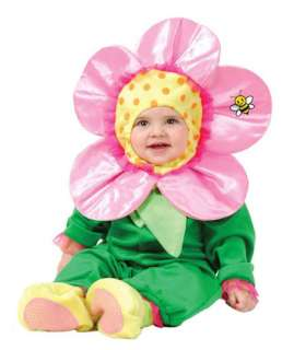 Infant Baby Toddler Pink Daisy Flower Halloween Costume