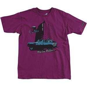 Troy Lee Designs Loco Town T Shirt   2X Large/Purple