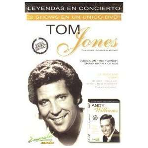 TOM JONES / ANDY WILLIAMS : LEYENDAS EN CONCIERTO: Movies & TV