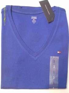 Tommy Hilfiger NWT Womens Short Sleeve V Neck Tee Shirt