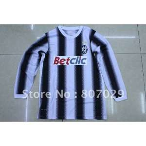 11/12 juventus soccer jersey embroidered logo high quality
