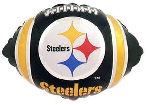 Pittsburgh Steelers Football 18 Mylar Balloon