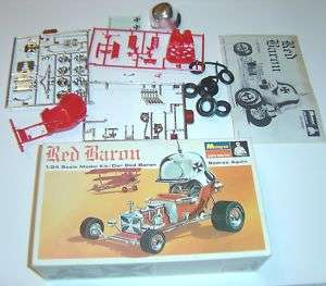 Monogram Red Baron Model car 1/24 Kit PC205