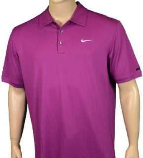 Nike Tiger Woods Golf Polo Shirt Purple Clothing