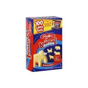 Stauffers Animal Crackers, Original, 100 Calorie Packs, 5.28oz, (pack