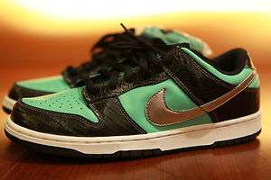 Nike DS Tiff SB Dunk Low Size 11 Aqua Chrome Nike x Diamond Supply