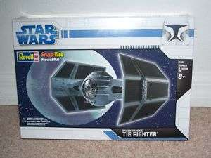 STAR WARS Darth Vaders TIE Fighter MODEL (Revell) New