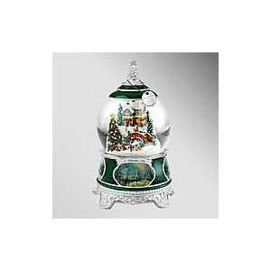 Thomas Kinkade O Christmas Tree Snow Globe