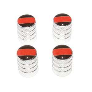 Thin Red Line   Firemen Tire Valve Stem Caps   Aluminum