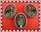Santa Tree Ornament angel Snowflakes Nativity religious items in