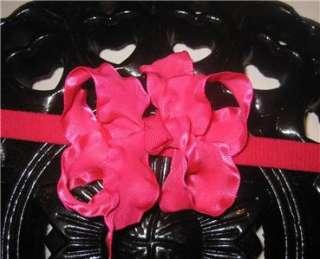 Ruffle Boutique Hair Bow Dainty Mini Wedding Communion Baby