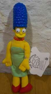 The Simpsons MARGE SIMPSON 12 Plush Stuffed Doll NEW