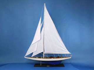 Enterprise 55 Model Yacht Wooden Ship NEW