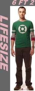 Big Bang Theory Sheldon LiFeSiZe Cardboard Standup Cutout Party