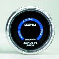 1Sunpro/2 in. black Style Line electric air fuel ratio gauge