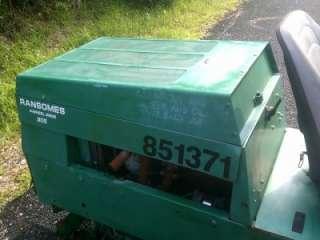 Ransomes 305 4x4 Kubota Diesel Fairway Reel Lawn Mower