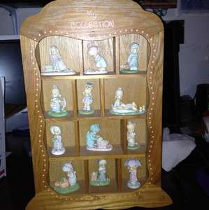 12 Precious Moments Figurines Samuel J Butcher Collection 1989