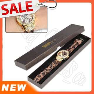 Brand New Crystal decorate Dial Bling Women Ladies Wrist Quartz Watch