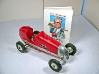 Roy Richter Hand Hammered Tether Car, Batzloff Engine.