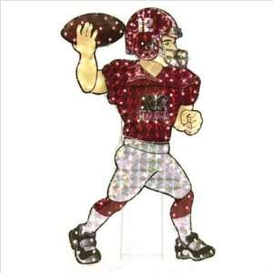 NCAA Ole Miss Rebels Animated Lawn Figure Sports