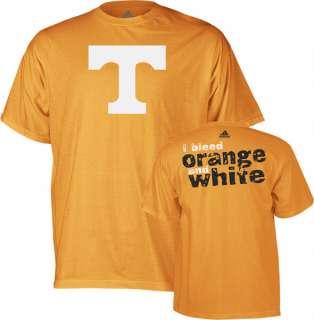 Tennessee Volunteers Bleed Orange & White T Shirt 3XL