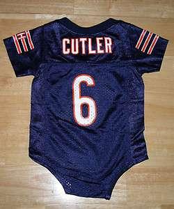 Chicago Bears CUTLER Infant / Kids NFL Team Apparel Reebok Jersey NWT