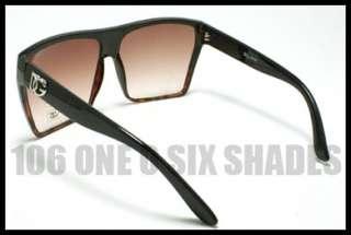 DG Designers Squared Flat Top Celebrity Sunglasses Extra Oversized