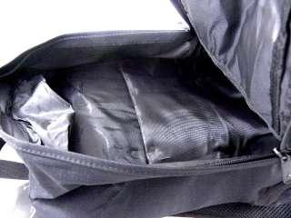 Nike Jordan Black/Red Laptop Travel Book Bag Back Pack