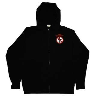 Bad Religion Crossbuster Logo Punk Rock Band Zip Up Hoodie