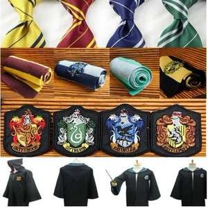 Chunseblanking Harry Potter Accessory Cape Robe Costume Badge Neck Tie
