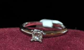Diamond Engagement Ring Promise Wedding Princess Cut 0.25ct Solitaire