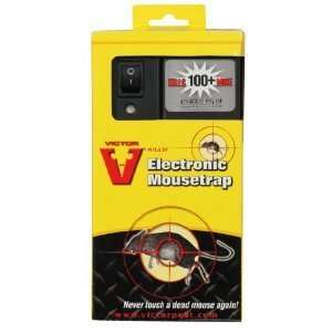 Victor Electronic Mouse Trap Kills 100 Mice Per Each Set of Batteries