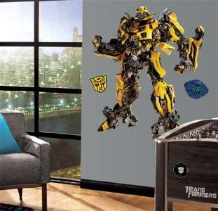 New Giant BUMBLEBEE WALL DECALS Transformers Stickers 034878826240