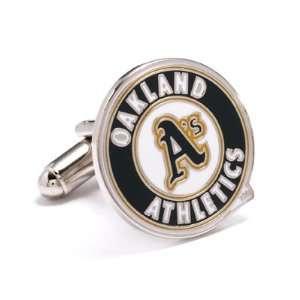 Officially Licensed MLB Oakland Athletics Cufflinks