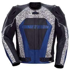 Tourmaster Cortech Python Mens Leather Motorcycle Jacket