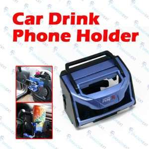 Car Drink Cup Coffee Bottle Stand Mount Air Vent Clip
