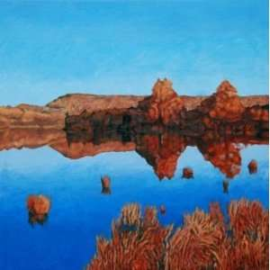 Fall Reflections, South Boundary Lake, Original Painting