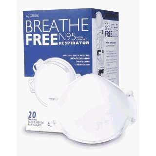 High Efficiency Molded Face Mask (Box of 20)