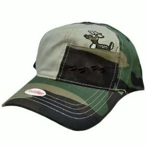 Deer Tracks Khaki Brown Camo Toddler Kids Youth Snapback