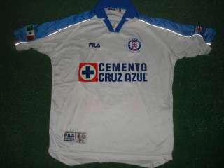 Cruz Azul Match Worn Shirt Final Copa Libertadores 2001