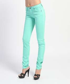MOGAN Casual Candy Colored SUPER SKINNY JEANS Comfy Slim Fit LowRise