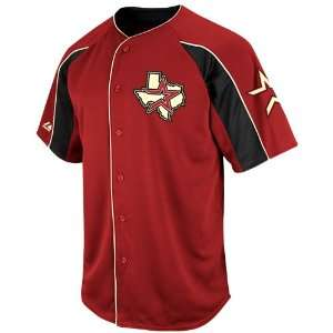 Houston Astros Double Play Jersey   Brick Red