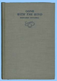 Gone With The Wind, By Margaret Mitchell, sept.,1936